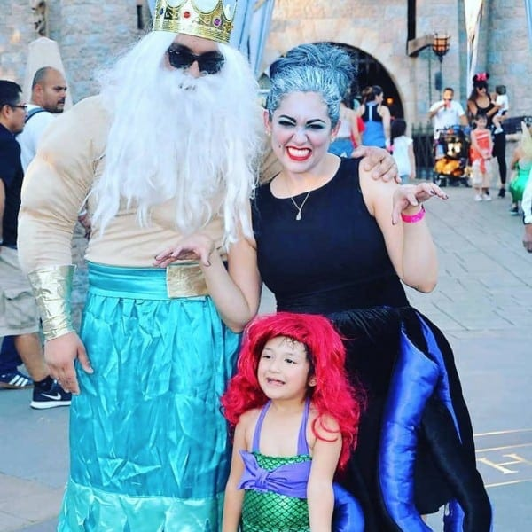 Family Of 3 Halloween Costumes