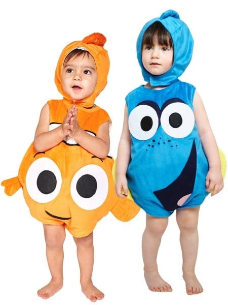 Baby Toddler Disney Finding Nemo Dory Fancy Dress Costume Kids