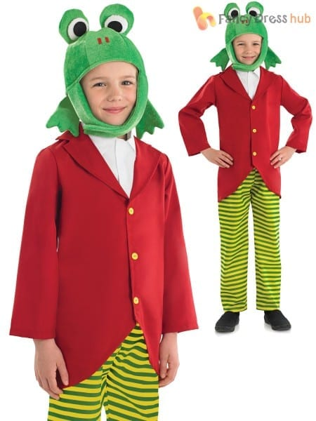 Child Mr Toad Peter Rabbit Book Day Character Costume Fancy Dress