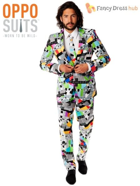Mens Original Oppo Suits Stag Do Fancy Dress Outfit Party Mardi