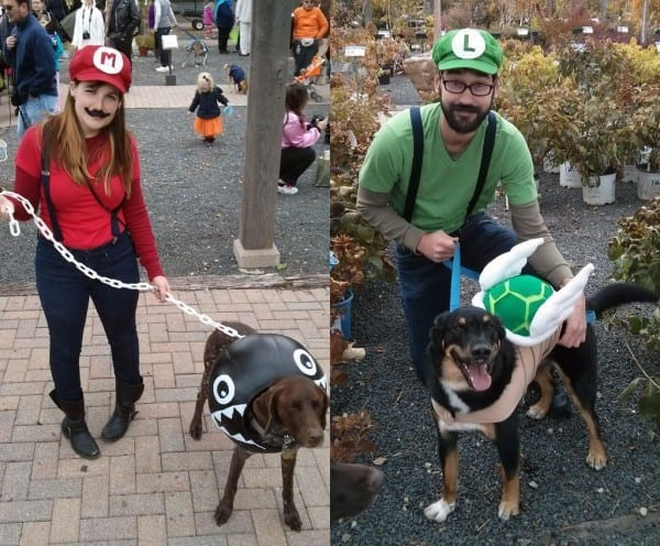 Mario Themed Costumes For Dogs And People  3 Steps