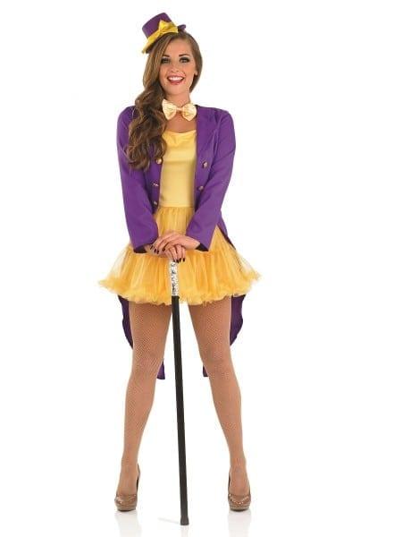 Willy Wonka Costumes (for Men, Women, Kids)