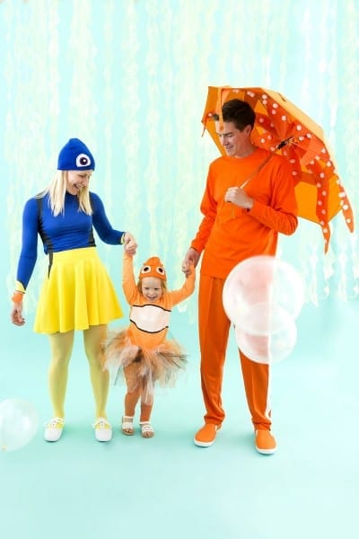 Diy This Finding Dory Family Costume For An Unforgettable