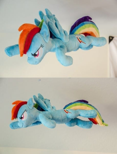 Flying Rainbow Dash Plush By Makeshiftwings30 On Deviantart