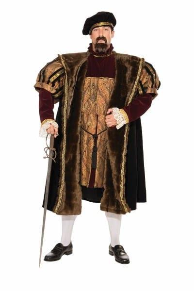 Adult Henry Medieval Deluxe Men Costume