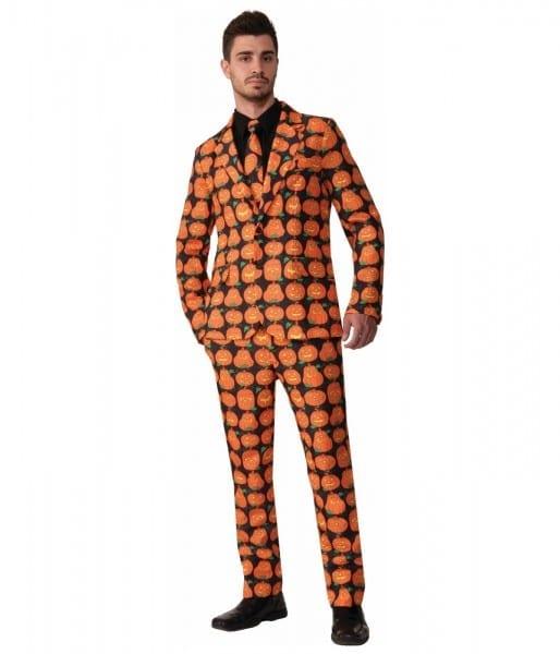 Amazon Com  Forum Novelties Men's Pumpkin Suit And Tie Costume