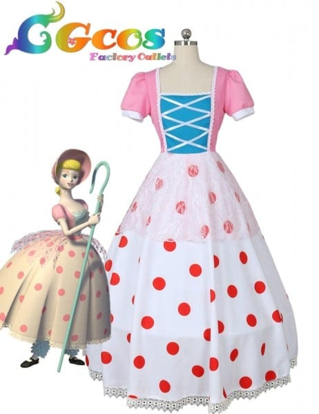 Free Shipping Cosplay Costume Bo Peep New In Stock Retail
