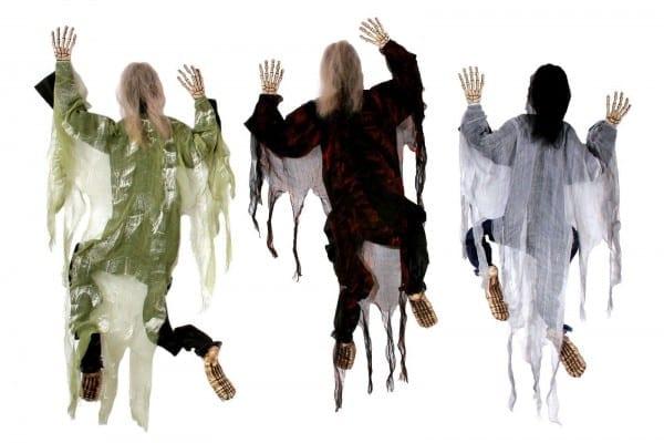 5' Hanging Climbing Dead Zombie Monster Prop Decoration Halloween