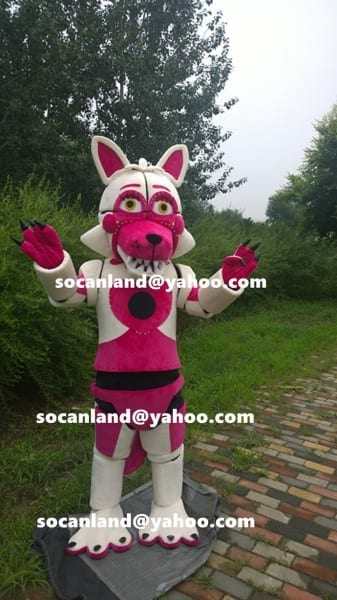 Fnaf Funtime Foxy Mascot Costumes,fnaf By Ibetter Life On Zibbet