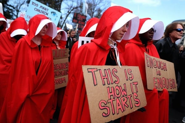 The Handmaid's Tale Costume's Place In Protest Culture