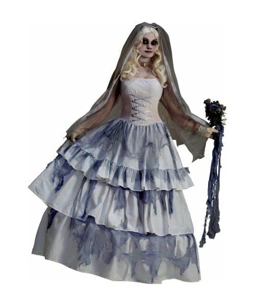 Adult Ghost Bride Halloween Costume