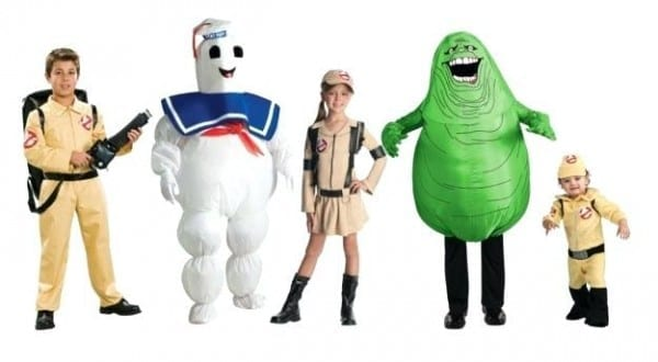 Ghostbusters 2 Kids Boys Movie Costume With Inflatable Proton
