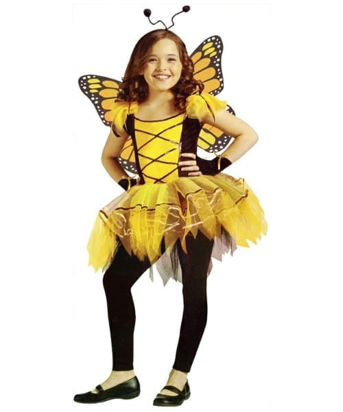 Butterfly Ballerina Girls Costume