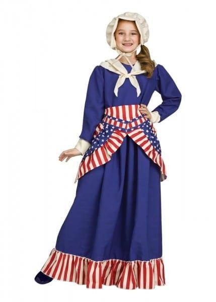 Betsy Ross Girls Costume