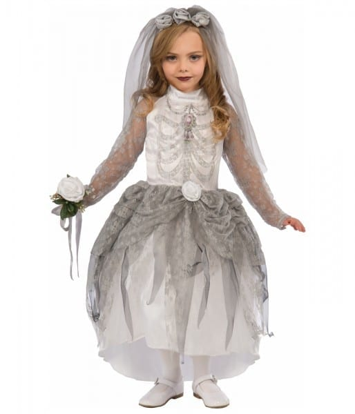 Bony Bride Girls Skeleton Costume