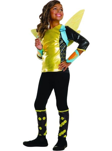 Girl's Bumblebee Dc Comics Costume  Express Delivery