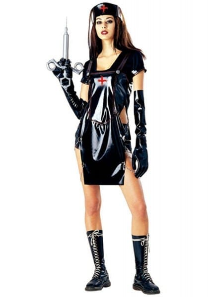 Gothic Nurse Costume Insane Asylum Halloween Costumes At Designs