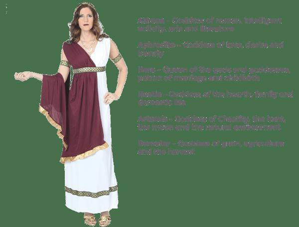 Egyptian & Greek Goddess Costumes