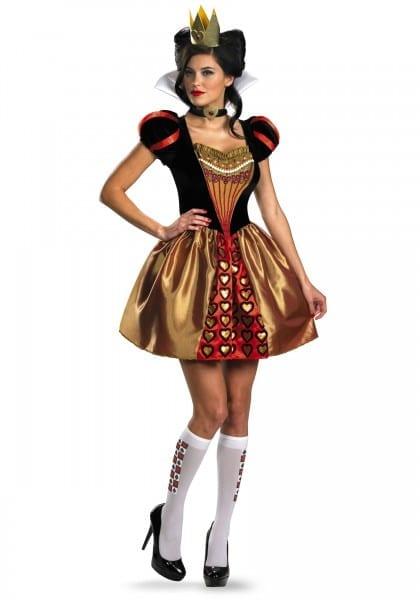 The Red Queen Halloween Costume