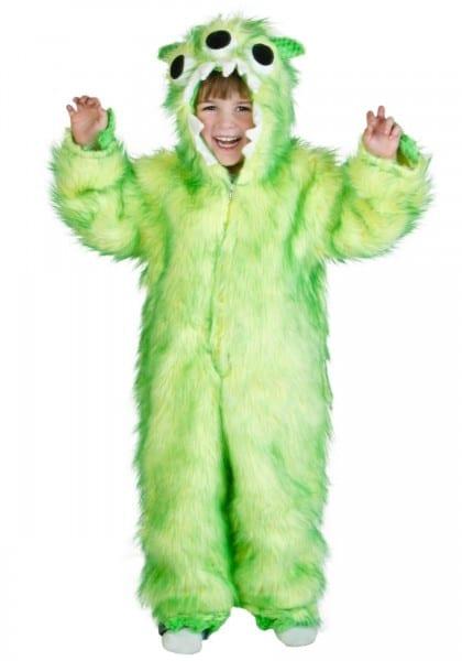Green Monster Halloween Costume
