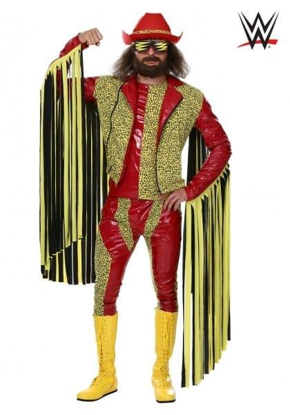 Halloween Plus Size Macho Man Randy Savage Costume 2x 3x 4x Mens