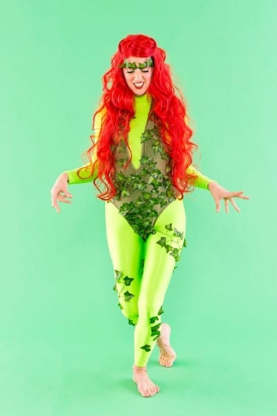 Make Like Uma Thurman And Make This Poison Ivy Costume For