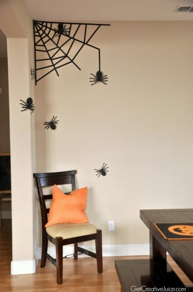 Lovely Halloween Wall Decor Horrible Scary Decorating Idea Outdoor