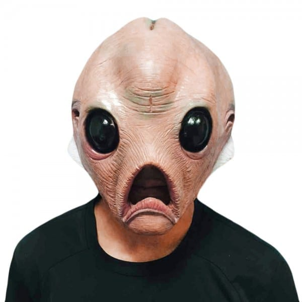 Horror Alien Latex Mask Full Face Adult Breathable Halloween