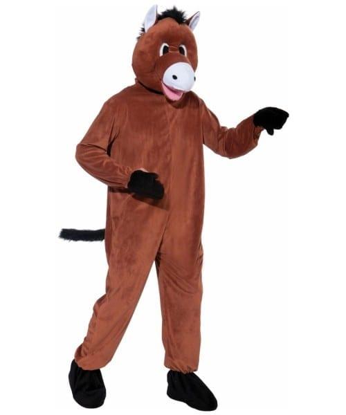 Adult Mascot Horse Halloween Costume