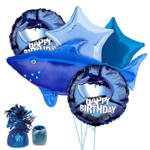 Buy Costume Supercenter Bb102228 Shark Party Balloon Kit In Cheap