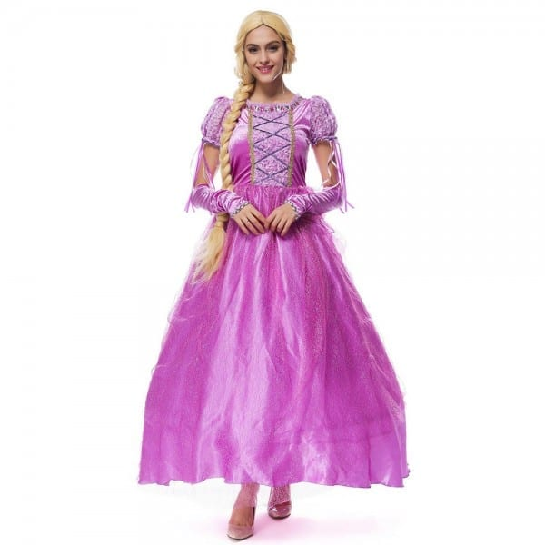 Hot Sale Fairy Tale Princess Cosplay Clothes Princess Tangled