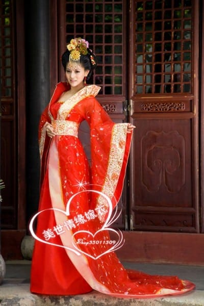 2016 Hot! !new Green Chinese Traditional Women Ancient Infanta