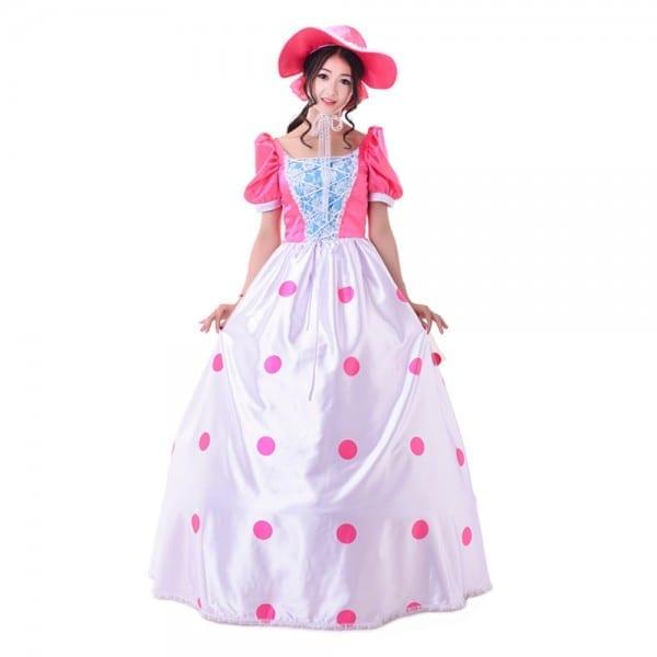 2016 Cartoon Movie Toy Story Bo Peep Cosplay Costumebo Peep