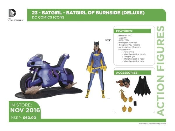 New Dc Icons Figures Revealed  Batgirl, Cyborg, And Accessory Pack