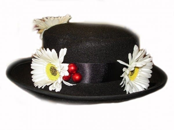 Custom Boutique Mary Poppins Nanny's Black Hat On Storenvy