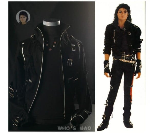 Michael Jackson Bad Jacket For Kids