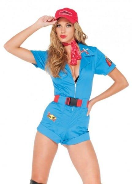 Girl Mechanic Halloween Costume