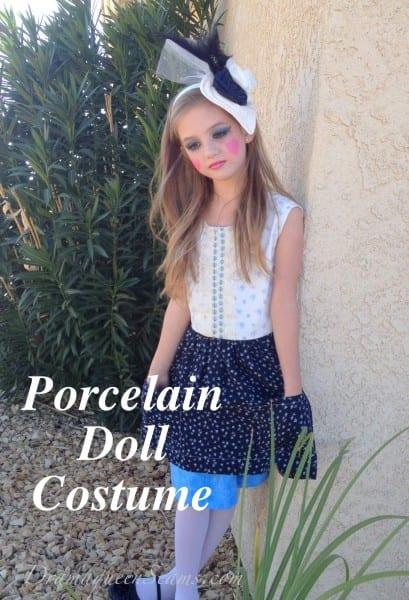 Halloween Costume (porcelain Doll) – Drama Queen Seams