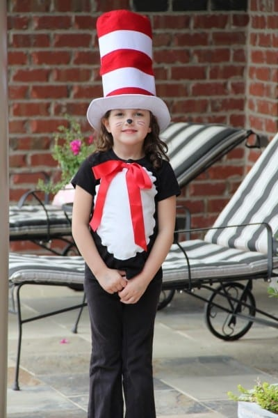 Kre Ward  Dr  Seuss Birthday Dress Up