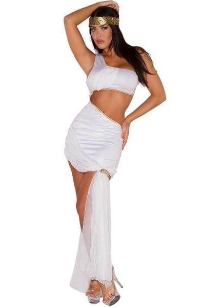 Miss Toga Party Costume, Sexy Greek Goddess Costume