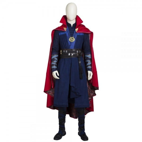 2016 New Doctor Strange Stephen Strange Cosplay Costume Customized