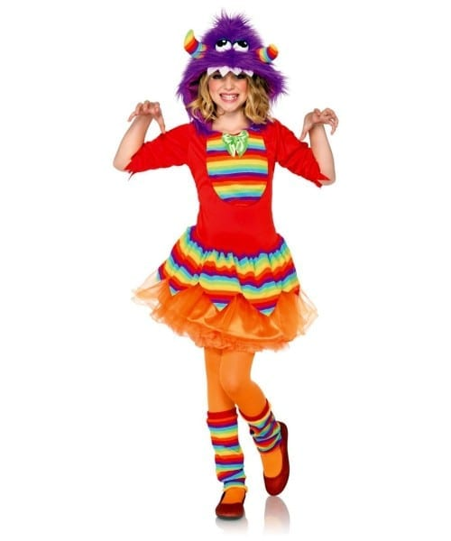Rainbow Monster Kids Halloween Costume