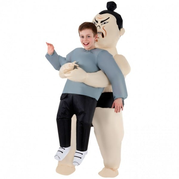 Kids Sumo Pick Me Up™ Inflatable Costume