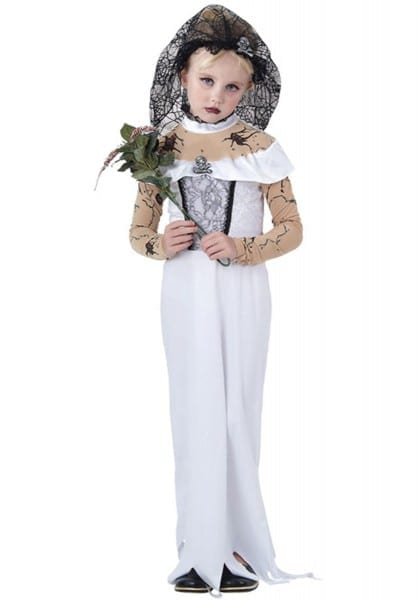 Kids Zombie Bride Costume Escapade Uk, Bride Halloween Costumes