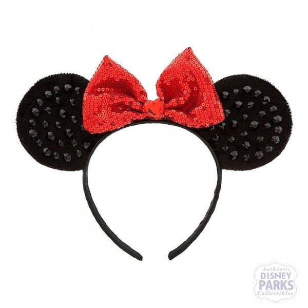 Authentic Disney Parks Collectibles Minnie Mouse Ears Headband For