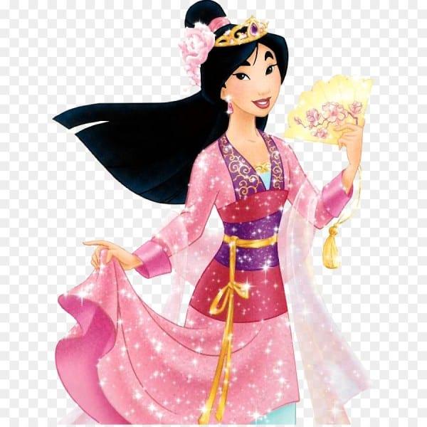 Fa Mulan Princess Aurora Anna Disney Princess