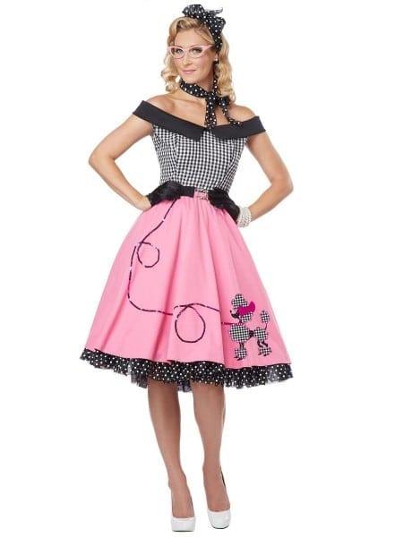 1950s Ladies Fancy Dress Costumes