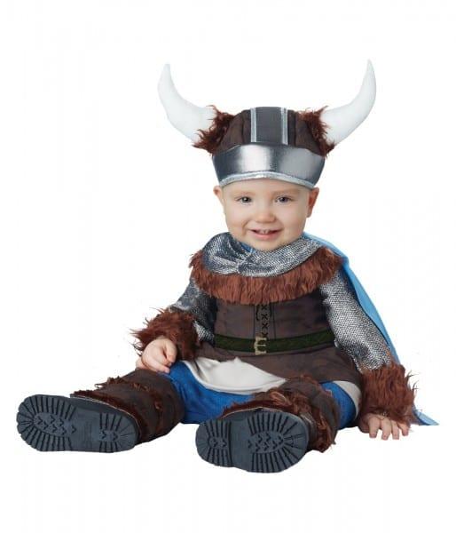 Brave Viking Warrior Little Boys Costume