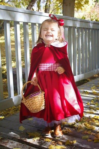 Do It Yourself Divas  Diy  Little Red Riding Hood Costume Cloak 2t