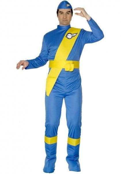 Mens' Thunderbirds Virgil Tracy Fancy Dress Costume
